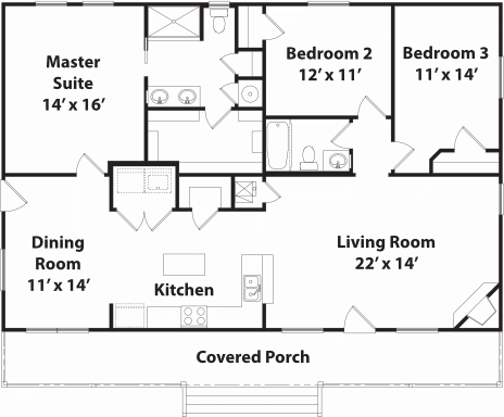 1512 Heritage Floor Plan